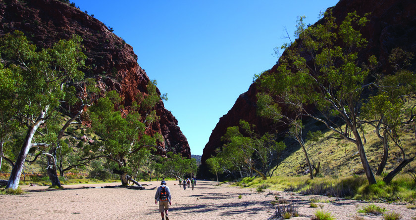 Simpson's Gap, Larapinta Trail