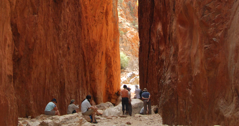 Standley Chasm, Larapinta Trail