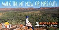 Walk the NT now or miss out!