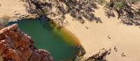 Ormiston Gorge offers swimming opportunities   #cathyfinchphotography
