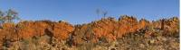 Exceptional rock formations on the escarpment on the Larapinta Trail |  <i>Peter Walton</i>