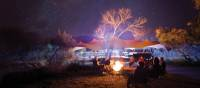 Around the campfire at one of our exclusive eco-comfort camps | Graham Michael Freeman