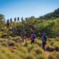Walking along Central Australia's stunning Larapinta Trail | Graham Michael Freeman