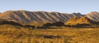 Heavitree Range from Mt Sonder Lookout at Glen Helen | Peter Walton