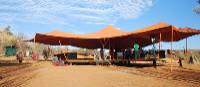 The main canopy shelters a comfortable lounge, stylish dining and functional kitchen facilities   Chris Buykx