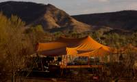 The Larapinta campsites are designed to be in harmony with the outback landscapes |  <i>Brett Boardman</i>