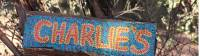 Hand painted sign at Charlie's Camp |  <i>Ayla Rowe</i>