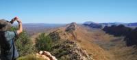 Ridge walking along the Larapinta Trail | Latonia Crockett