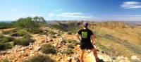 Breathtaking views as we descend down Mount Sonder | Linda Murden