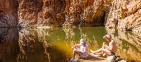 Magnificent rock formations along the Larapinta Trail | Gavin Yeates