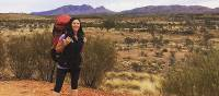 Enjoy the remote nature of the Larapinta Trail on our self guided walk