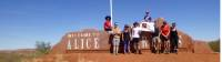 The Reach Foundation group at Alice Springs