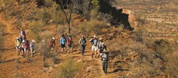 Traversing the ridgelines on the Larapinta Trail | Peter Walton